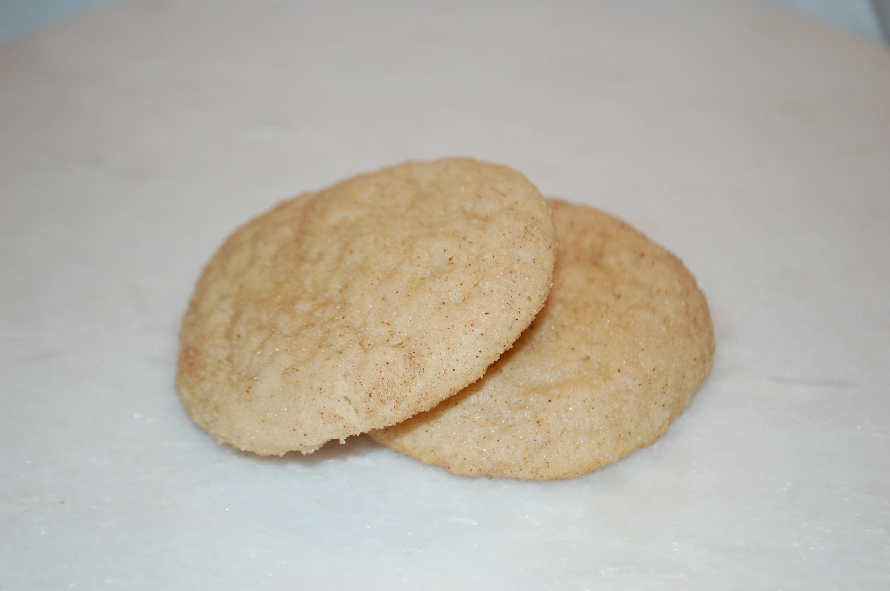 Soft sugar cookie rolled in cinnamon and sugar.