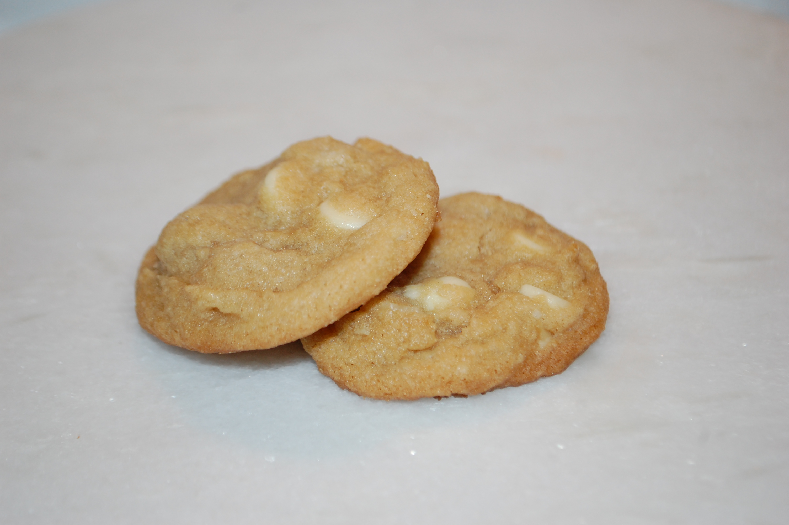 Delicious soft cookie full of chopped macadamia nuts and white chocolate chips.